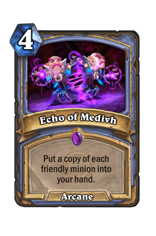Echo of Medivh Hearthstone kártya