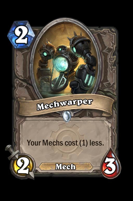 Mechwarper Hearthstone kártya