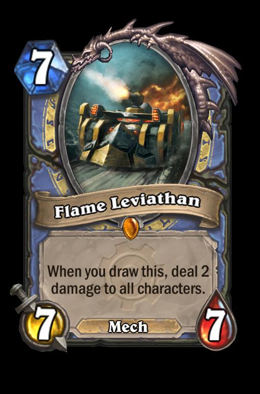 flame leviathan hearthstone kártya