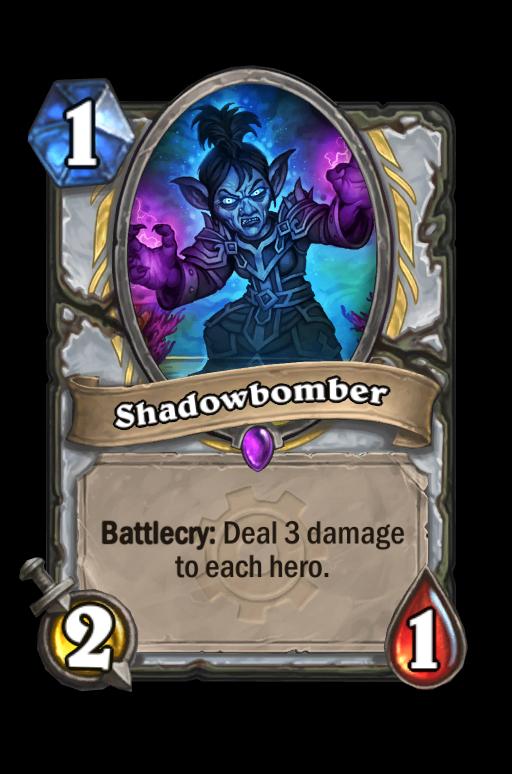 Shadowbomber Hearthstone kártya