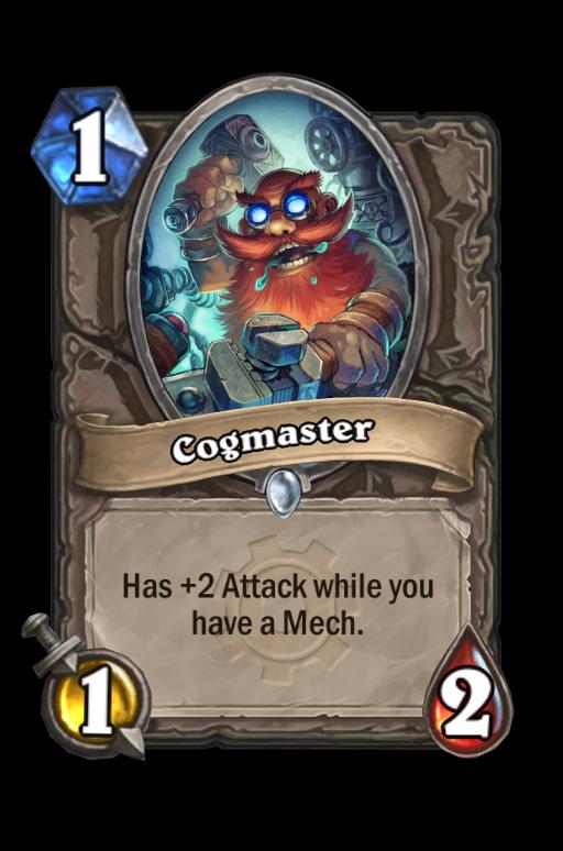 Cogmaster Hearthstone kártya