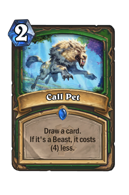 Call Pet Hearthstone kártya