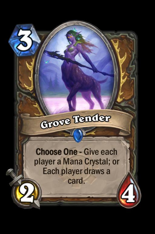 Grove Tender Hearthstone kártya