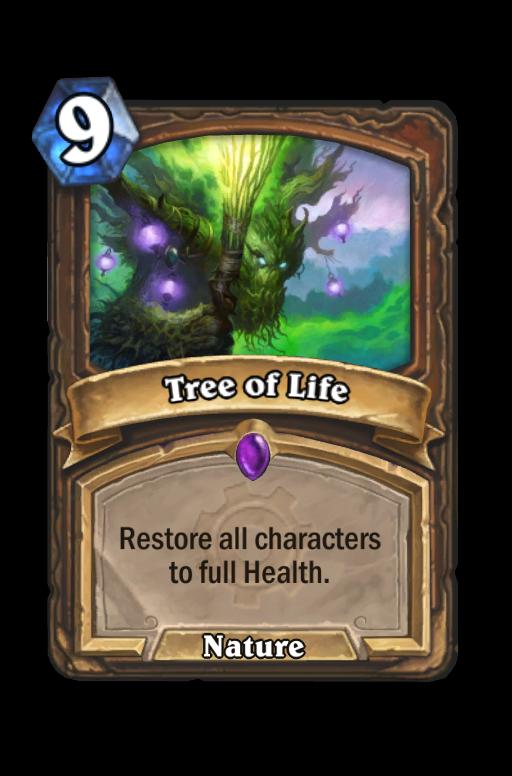 Tree of Life Hearthstone kártya