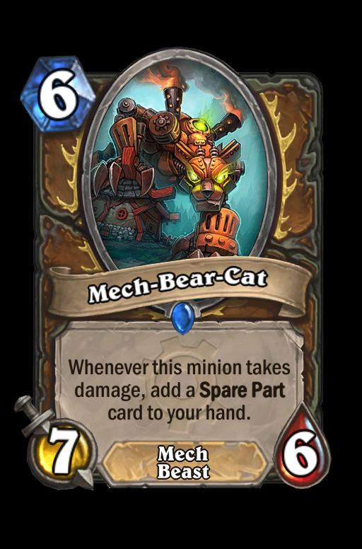 Mech-Bear-Cat Hearthstone kártya