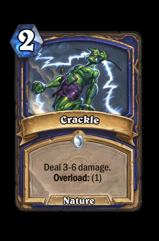 Crackle Hearthstone kártya