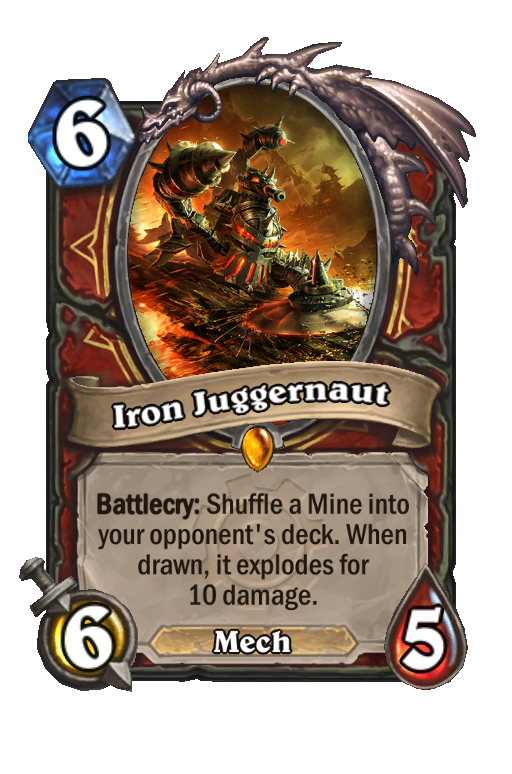 Iron Juggernaut Hearthstone kártya