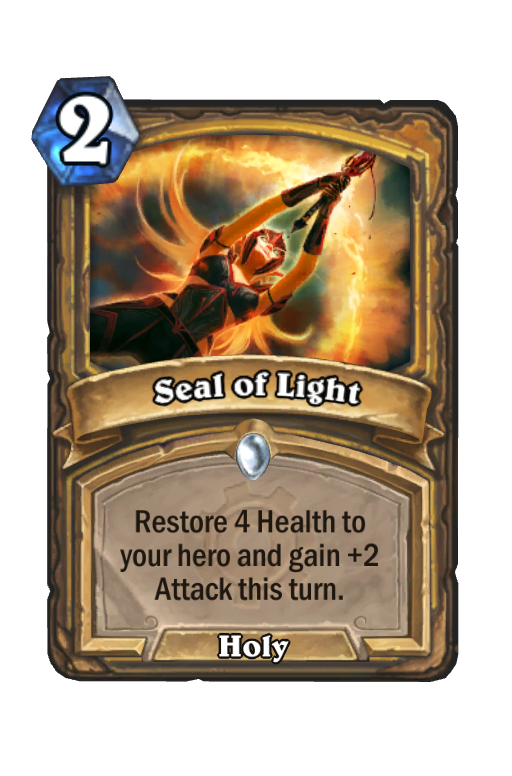 Seal of Light Hearthstone kártya
