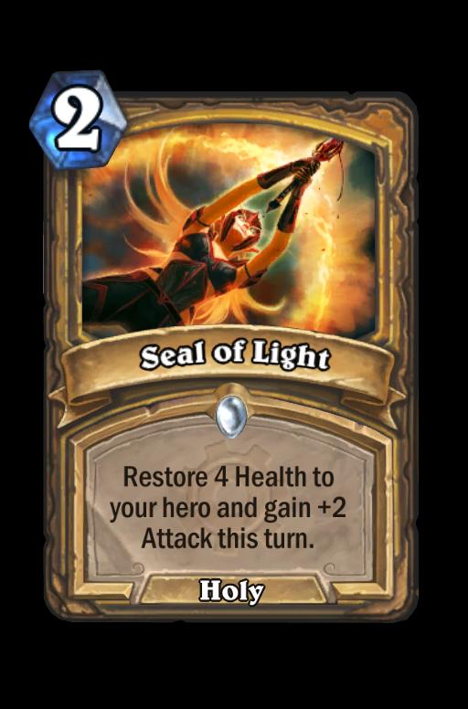 Seal of Light Hearthstone kártya