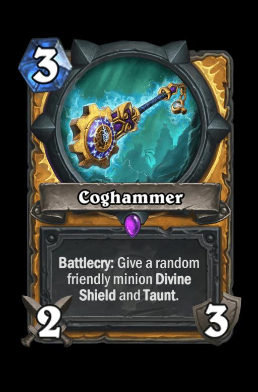 Coghammer Hearthstone kártya