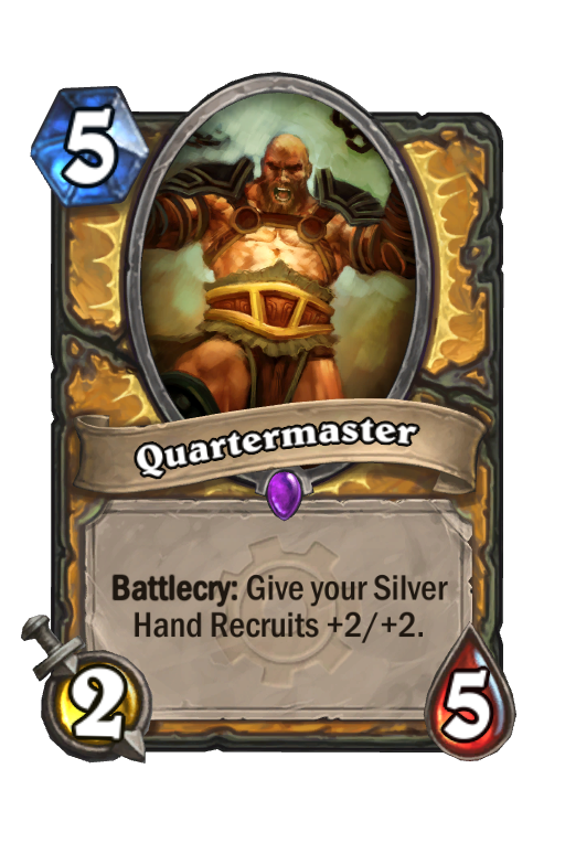 Quartermaster Hearthstone kártya