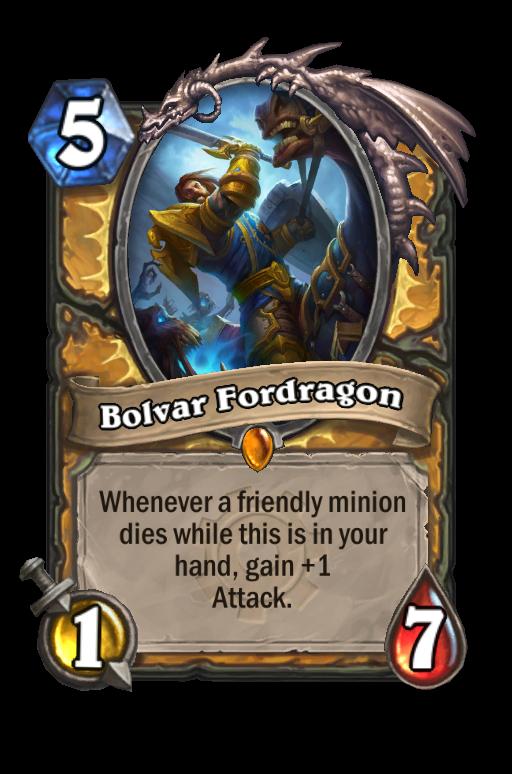 Ismerd az újabb kártyák történetét is: Bolvar Fordragon