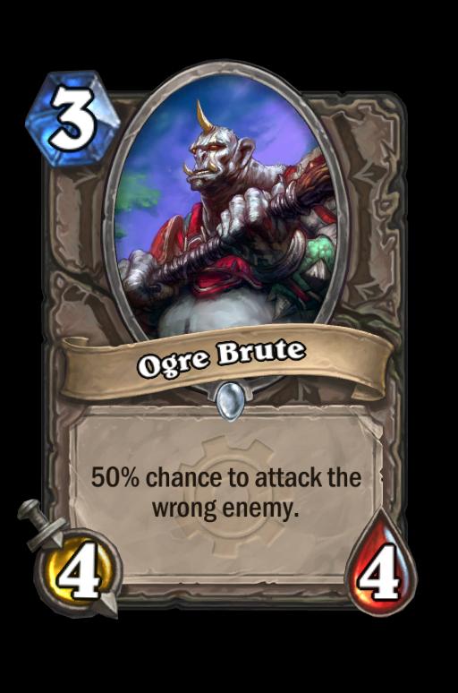 Ogre Brute Hearthstone kártya