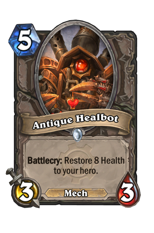 Antique Healbot Hearthstone kártya