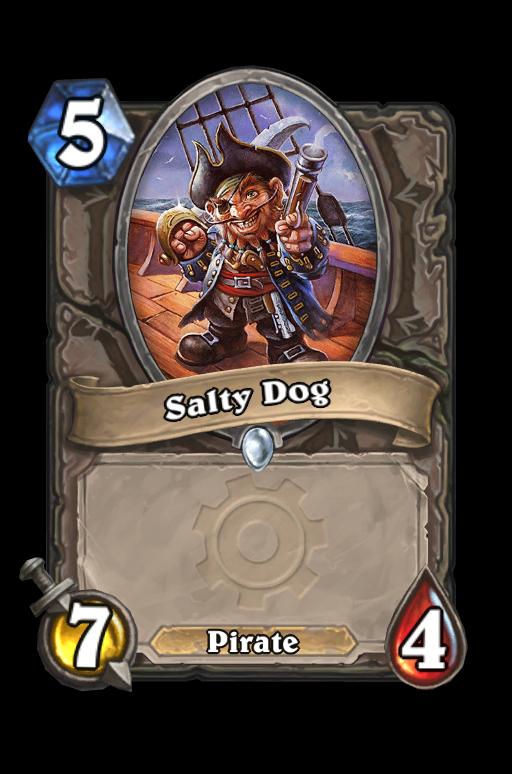 Salty Dog Hearthstone kártya