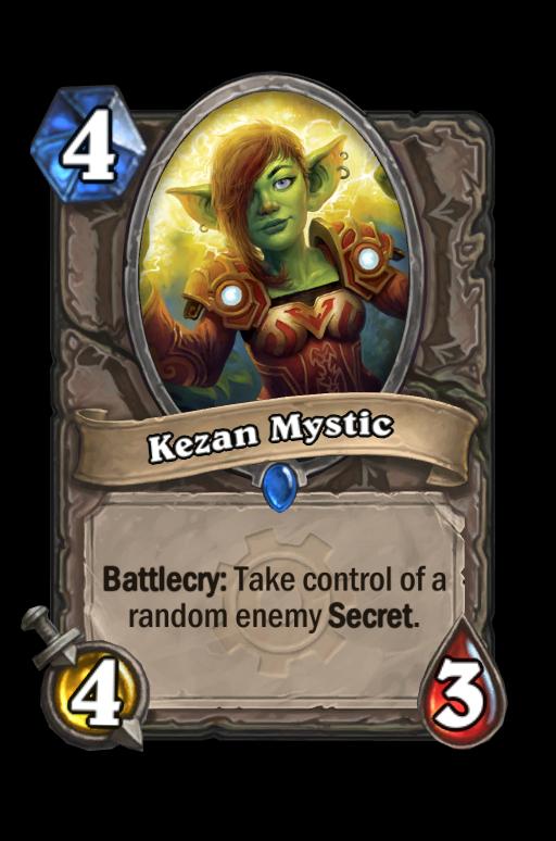 Kezan Mystic Hearthstone kártya