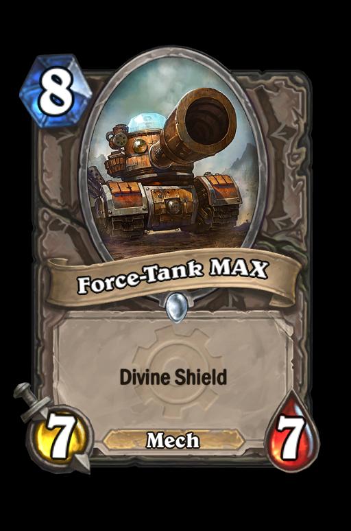 Force-Tank MAX Hearthstone kártya
