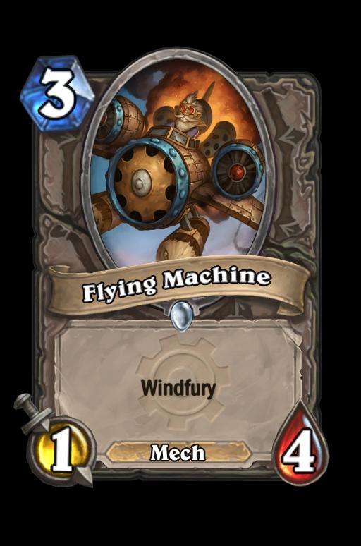 Flying Machine Hearthstone kártya