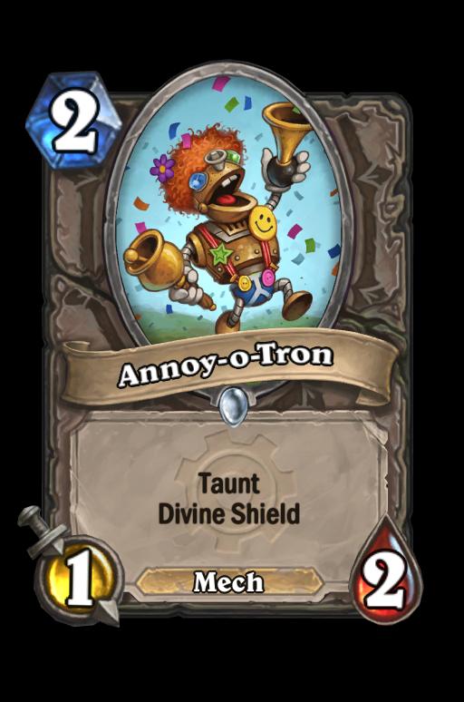 Annoy-o-Tron Hearthstone kártya