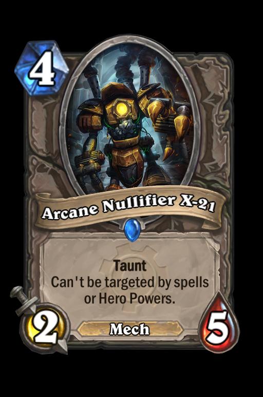 Arcane Nullifier X-21 Hearthstone kártya