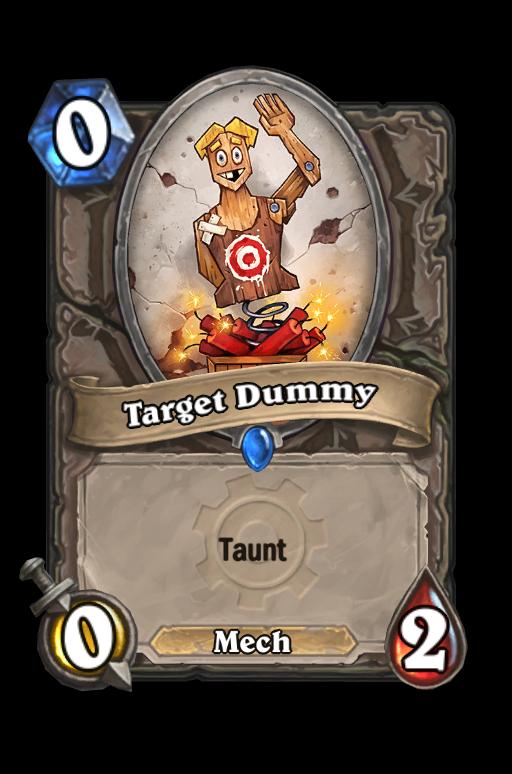 Target Dummy Hearthstone kártya