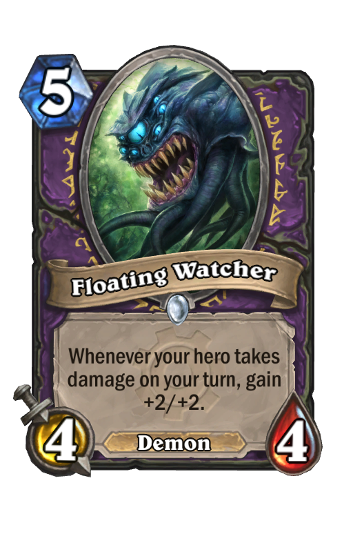 Floating Watcher Hearthstone kártya