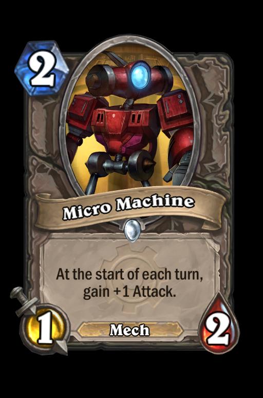Micro Machine Hearthstone kártya