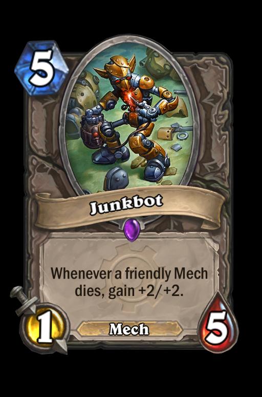 Junkbot Hearthstone kártya