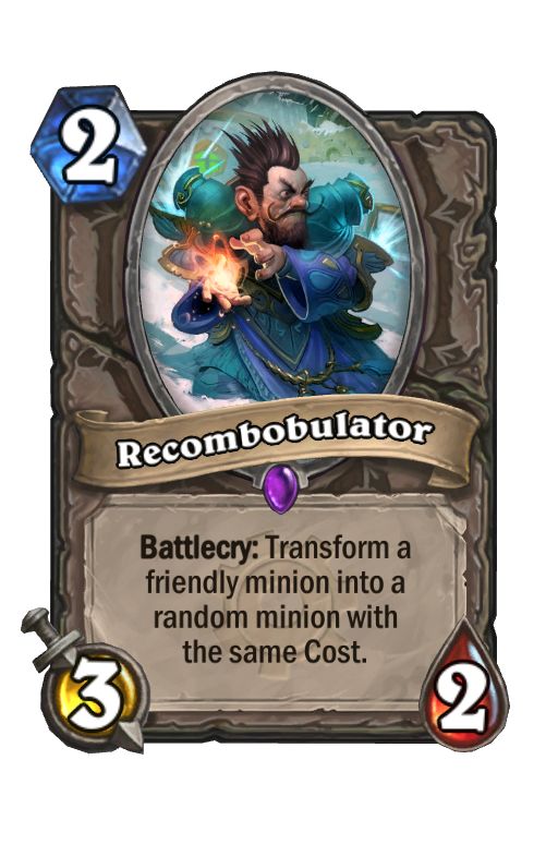 Recombobulator Hearthstone kártya