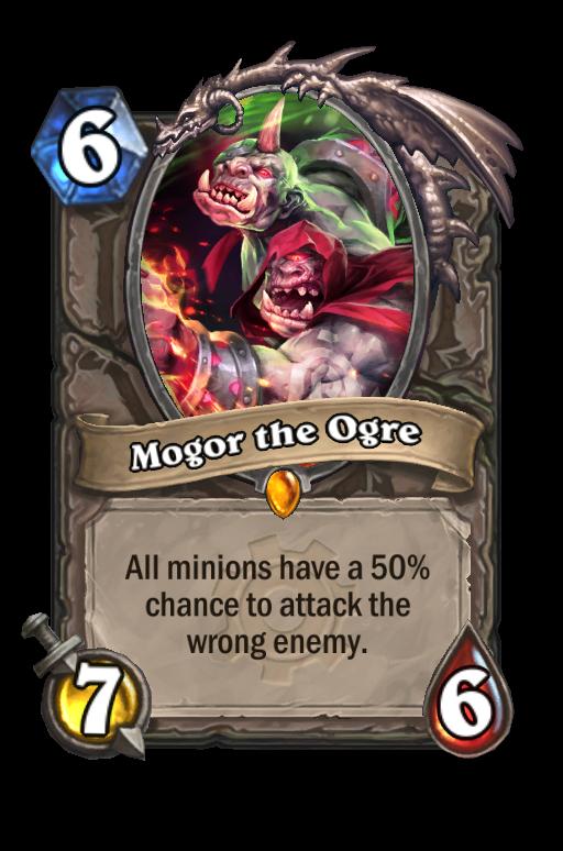 Mogor the OgreHearthstone kártya