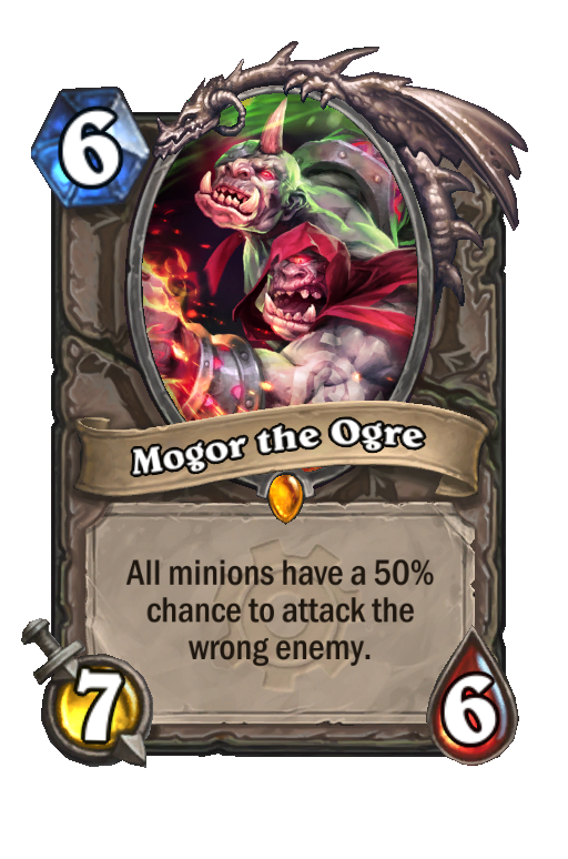 Mogor the Ogre Hearthstone kártya