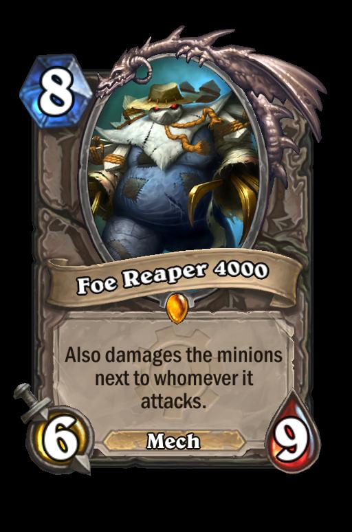 Foe Reaper 4000 Hearthstone kártya