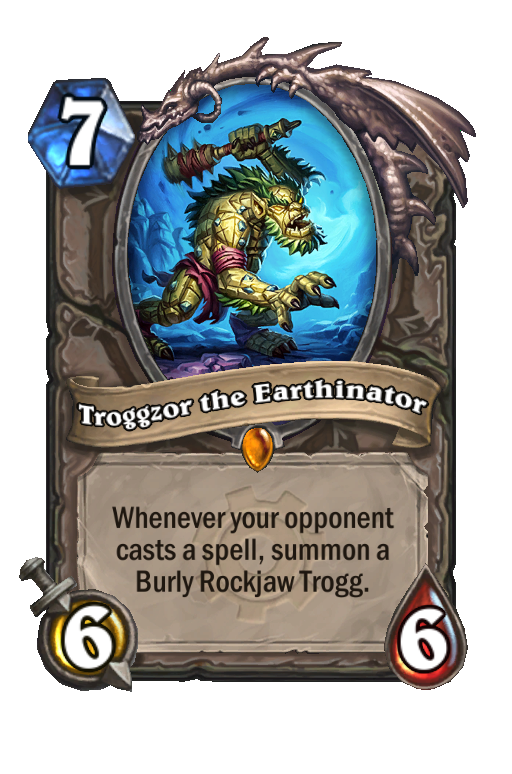 Troggzor the Earthinator Hearthstone kártya