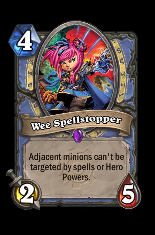 Wee Spellstopper Hearthstone kártya