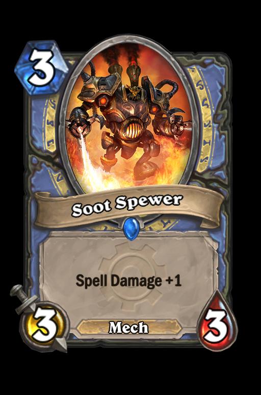 Soot Spewer Hearthstone kártya
