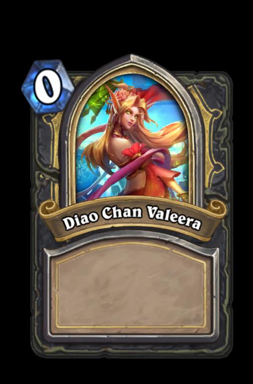 Diao Chan Valeera Hearthstone kártya