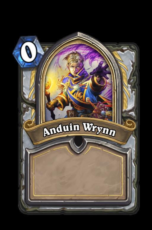 Anduin Wrynn Hearthstone kártya