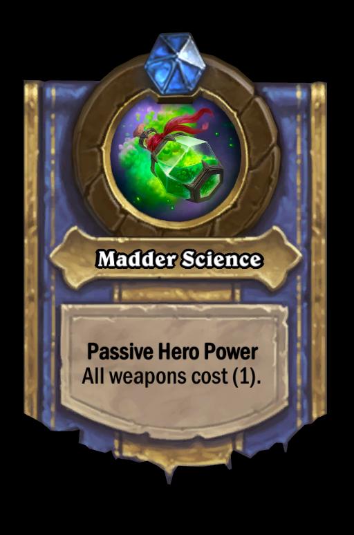 Madder Science