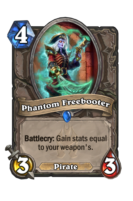 Phantom Freebooter Hearthstone kártya