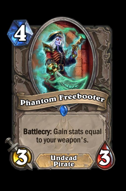 Phantom Freebooter Hearthstone kártya