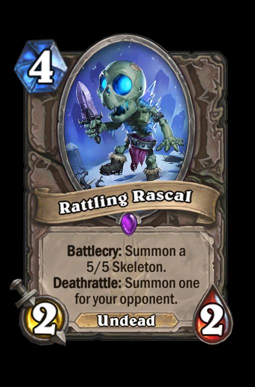 Rattling Rascal Hearthstone kártya