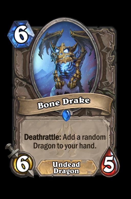 Bone Drake Hearthstone kártya