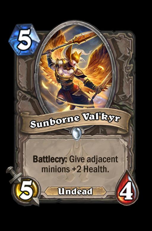 Sunborne Val'kyr Hearthstone kártya