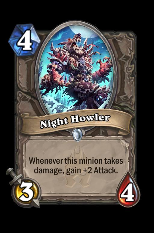Night Howler Hearthstone kártya