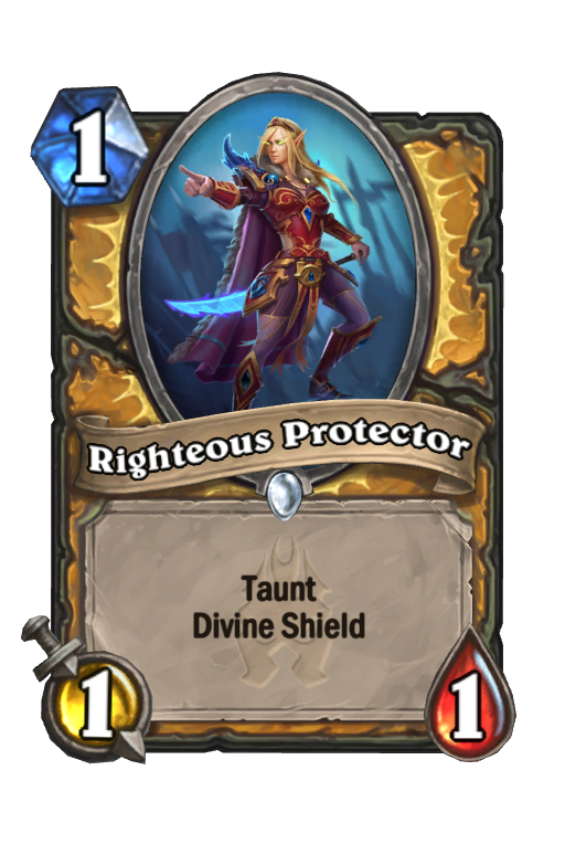 Righteous Protector Hearthstone kártya