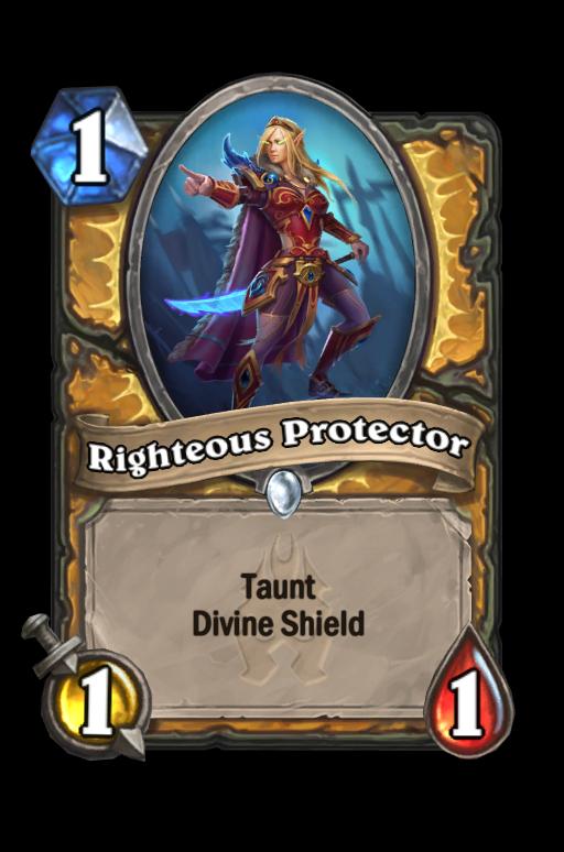 Righteous Protector Hearthstone kártya
