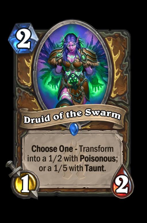 Druid of the Swarm Hearthstone kártya