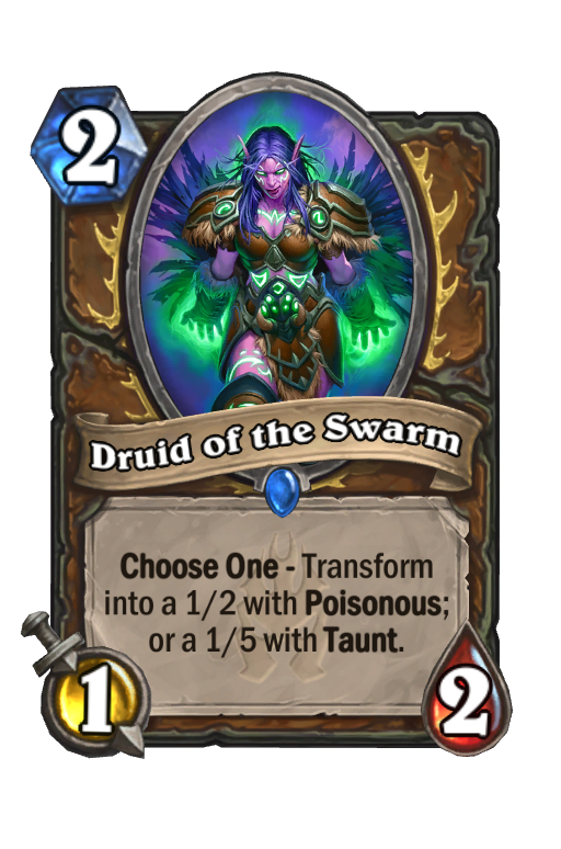 Druid of the Swarm Hearthstone kártya