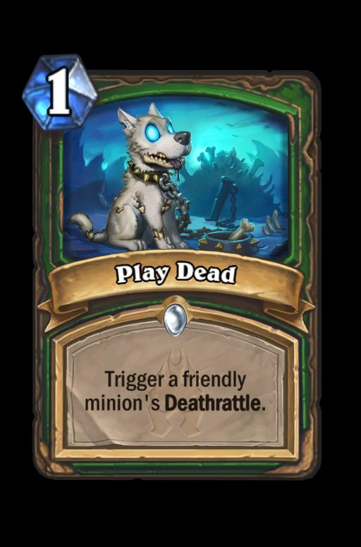 Play Dead Hearthstone kártya