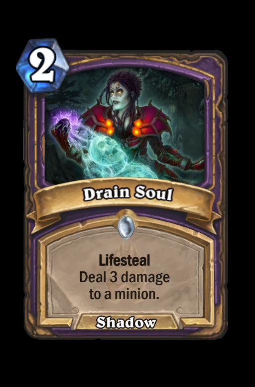 Drain Soul Hearthstone kártya